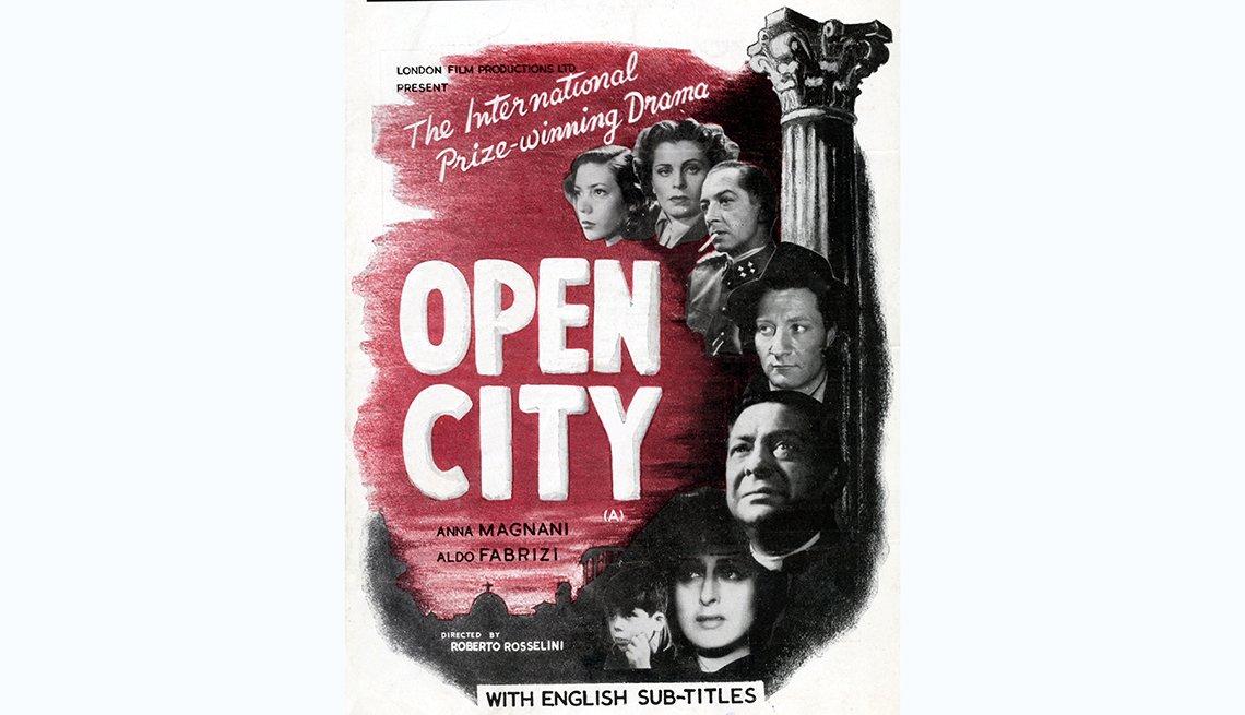 Roma ciudad abierta, películas clásicas