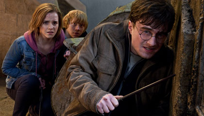 Emma Watson, Rupert Grint, and Daniel Radcliffe star in the final chapter of Harry Potter