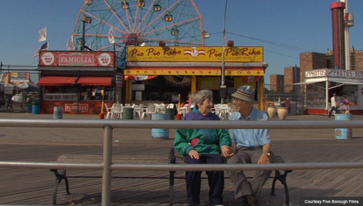Elderly couple featured in the documentary Love Etc