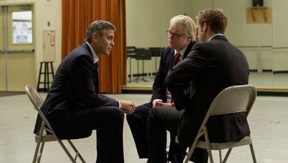 George Clooney, Philip Seymour Hoffman y Ryan Gosling protagonizan la película: 'Ides of March'