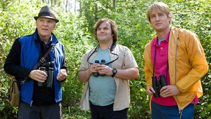 Steve Martin (izquierda), Jack Black (centro) y Owen Wilson protagonizan la película: 'The Big Year'