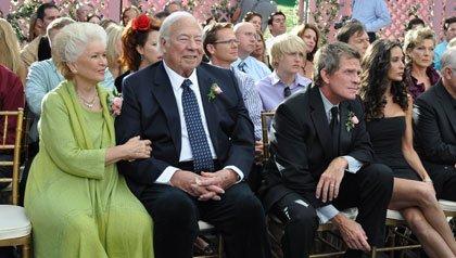 Ellen Burstyn, George Kennedy,Thomas Haden Church y Demi Moore en la película: 'Another Happy Day'