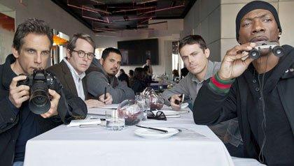 Ben Stiller, Matthew Broderick, Michael Pena, Casey Affleck, Eddie Murphy en Tower Heist