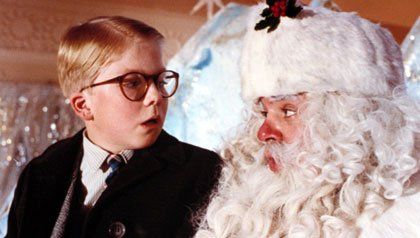 """Jeff Gillen in """"A Christmas Story"""""""