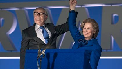 Meryl Streep stars as Margaret Thatcher in