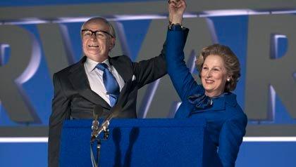 Meryl Streep stars as Margaret Thatcher in