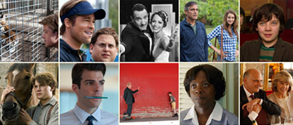 Top 10 movies for 2011