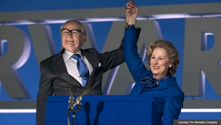 "Meryl Streep stars as Margaret Thatcher in ""Iron Lady"""