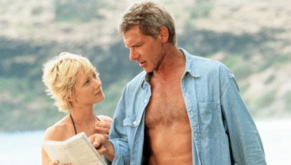 Anne Heche and Harrison Ford in six days Seven nights