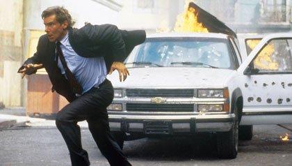 Harrison Ford como Jack Ryan en Clear and Present Danger
