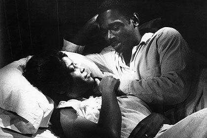 Abbey Lincoln and Ivan Dixon, NOTHING BUT A MAN, 1964.