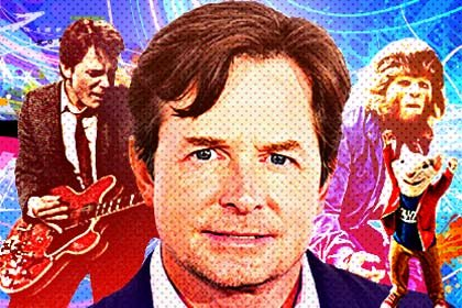 Michael J Fox turns 50