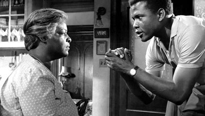 A RAISIN IN THE SUN, Claudia McNeil, Sidney Poitier, 1961