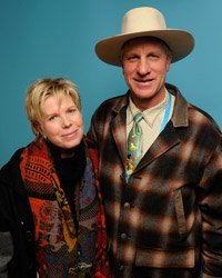 Cindy Meehl and Buck Brannaman at the 2011 Sundance Film Festival