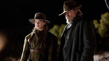 Hailee Steinfeld and Jeff Bridges star in True Grit