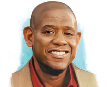 Forest Whitaker celebrates his 50th birthday July 15th