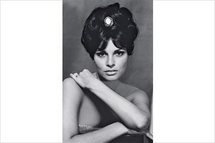 Raquel in New York, 1966.