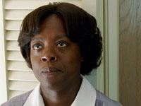 Viola Davis plays Aibileen Clark in The Help, the new film version of the best-selling novel.