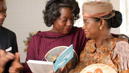 From left: Viola Davis and Octavia Spencer in The Help