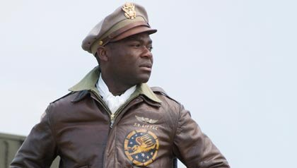 El actor David Oyelowo protazoniza a Joe 'Rayo' Little en la película: 'Red Tails'.