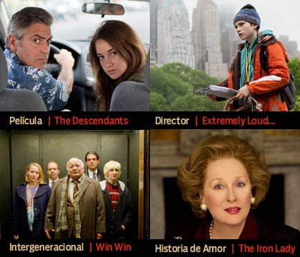 Ganadores 11va entrega 'Movies for Grownups' - AARP