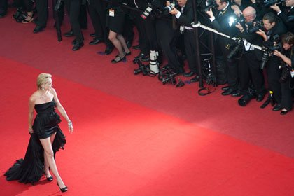 Sharon Stone attends the Cannes Film Festival in 2009.