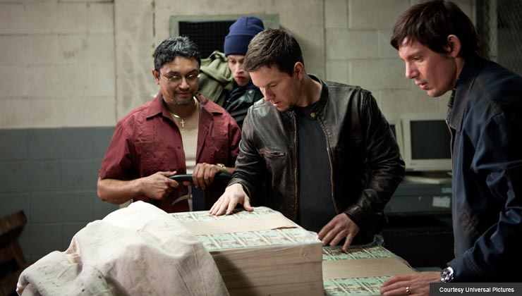 Mark Walhberg stars in Contraband
