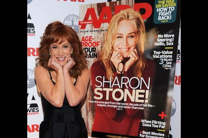 AARP The Magazine's 11th Annual Movies For Grownups Awards - Kathy Griffin