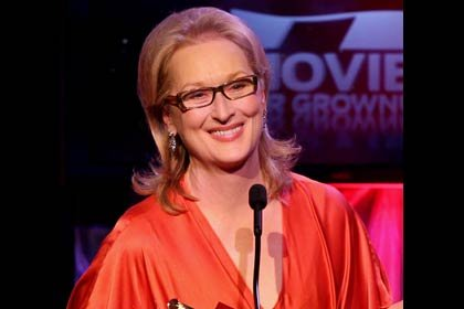 AARP The Magazine's 11th Annual Movies For Grownups Awards - Meryl Streep