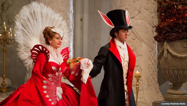 Julia Roberts stars in the Snow White adaption Mirror