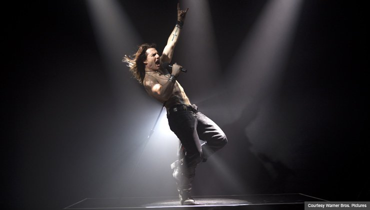 TOM CRUISE as Stacee Jaxx the rock musical ROCK OF AGES