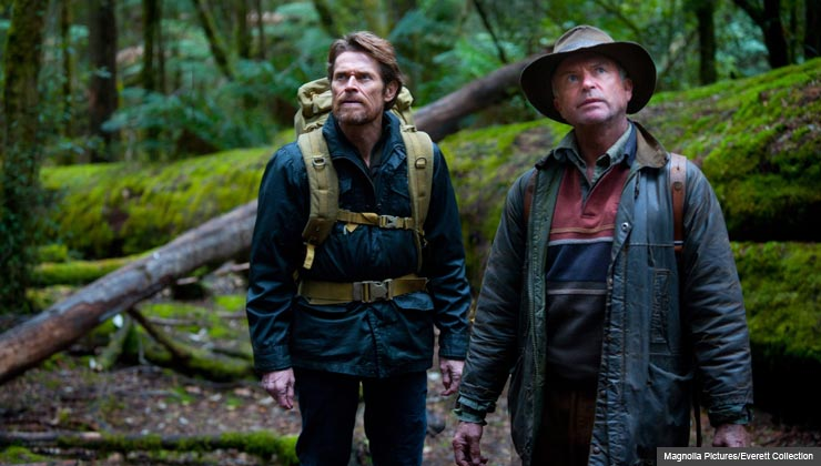 Willem Dafoe and Sam Neill star in The Hunger