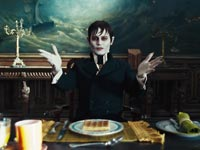 JOHNNY DEPP as Barnabas Collins in Warner Bros. Pictures and Village Roadshow Pictures DARK SHADOWS