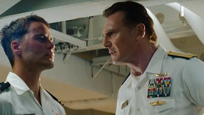 Liam Neeson and Taylor Kitsch in Univeral Pictures'