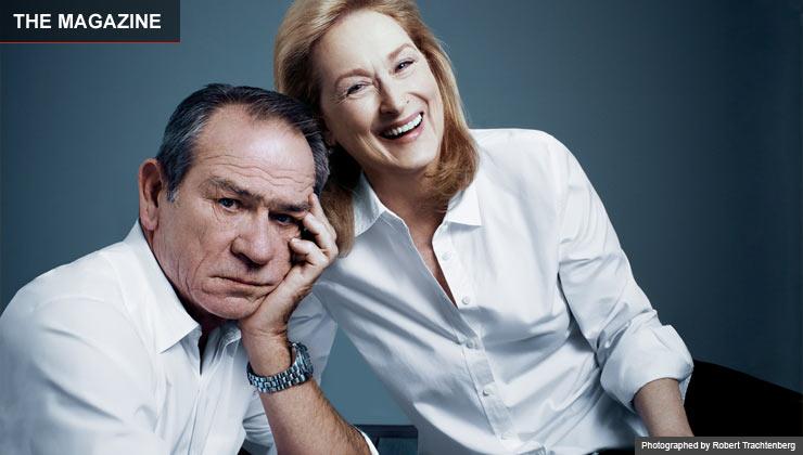 Meryl Streep and Tommy Lee Jones