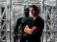 Christian Bale como Bruce Wayne en la película The Dark Knight Rises.