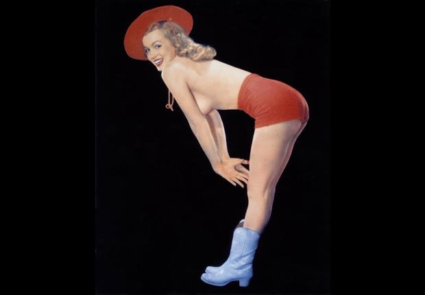 Marilyn Monroe, an image from the the first issue of Playboy