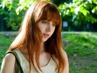 "Zoe Kazan as ""Ruby"" on the set of RUBY SPARKS."