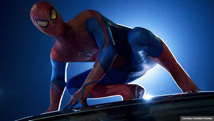 """Andrew Garfield stars as Spider-Man in Columbia Pictures' """"The Amazing Spider-man,"""""""
