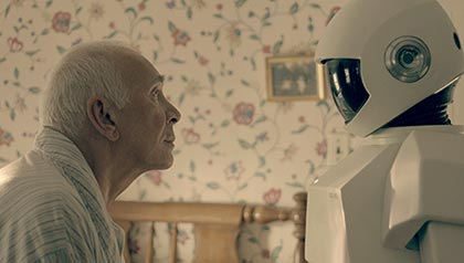 Frank Langella in 'Robot and Frank'