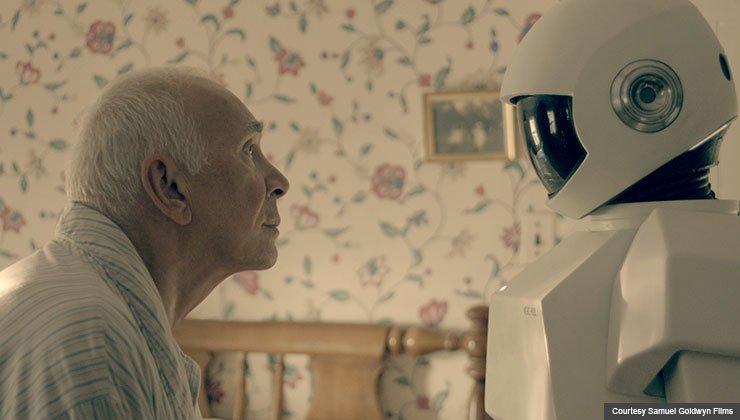 Frank Langella in 'Robot and Frank'