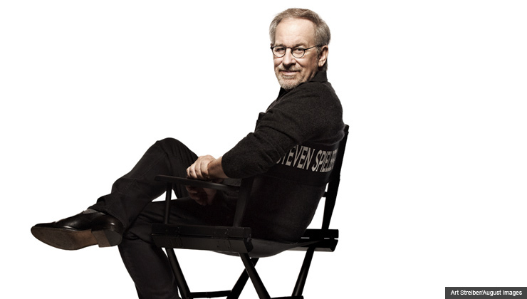 Steven Spielberg, director of the new movie 'Lincoln'