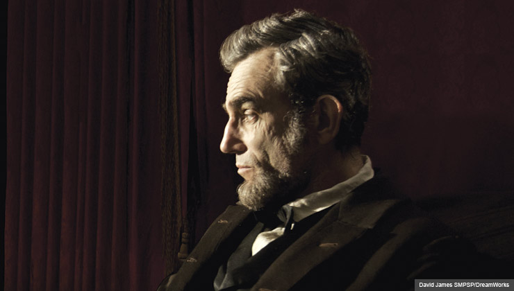 """Daniel Day Lewis stars as President Abraham Lincoln in this scene from director Steven Spielberg's """"Lincoln."""" For the Fall Movie Preview."""