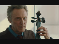 Christopher Walken plays instrument, A Late Quartet movie review