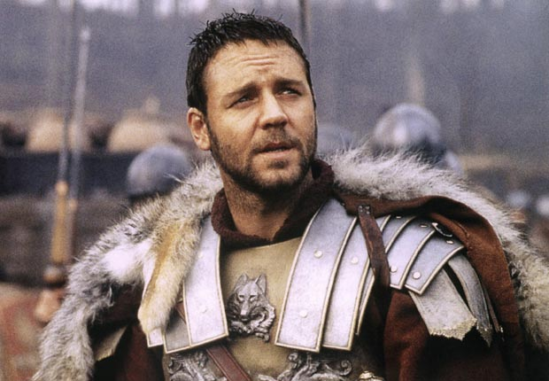 GLADIATOR, Russell Crowe, 2000.For the Action Movies for Grownups slideshow.