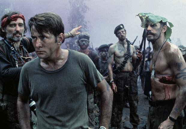APOCALYPSE NOW, Dennis Hopper, Martin Sheen, Frederic Forrest, 1979. For the Action Movies for Grownups slideshow.