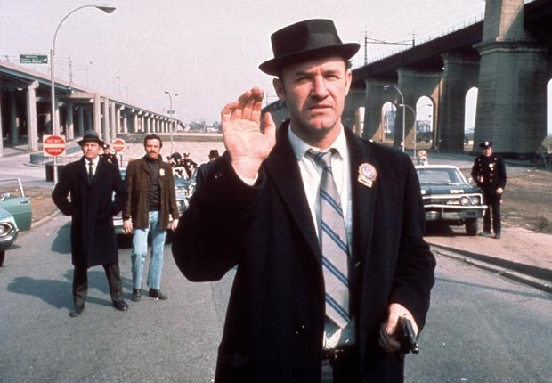 The French Connection (1971). Película protagonizada por Gene Hackman. Películas de acción para los adultos.
