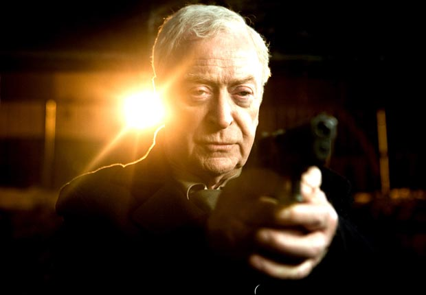 HARRY BROWN, Michael Caine, 2009. For the Action Movies for Grownups slideshow.