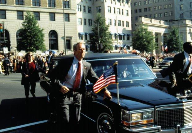 In the Line of Fire (1993). Película protagonizada por Clint Eastwood. Películas de acción para los adultos.