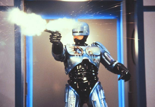 Robocop, USA 1987. For the Action Movies for Grownups slideshow.